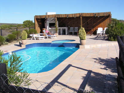 Accommodation Langebaan B&B Pool & Braai